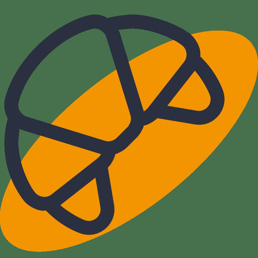 pictogramme croissant