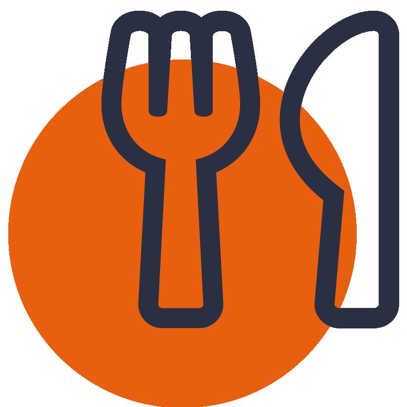 pictogramme fourchette couteau