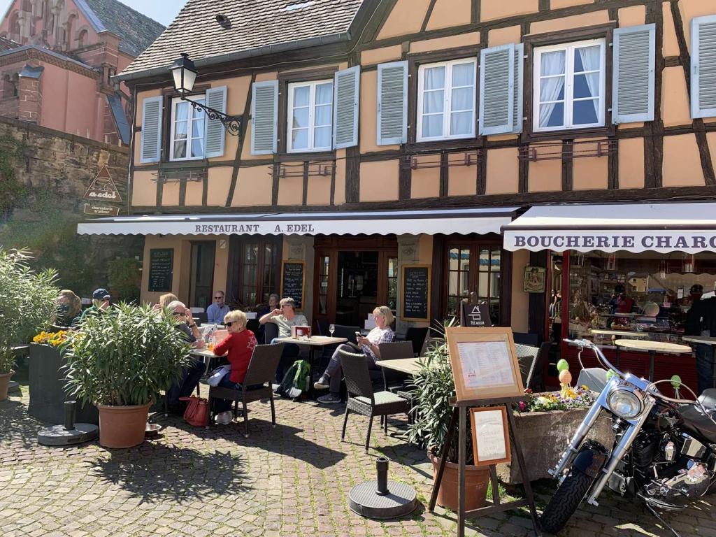 terrasse restaurant boucherie alsacien