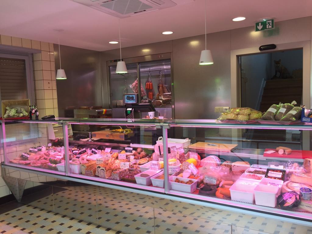 intérieur boucherie