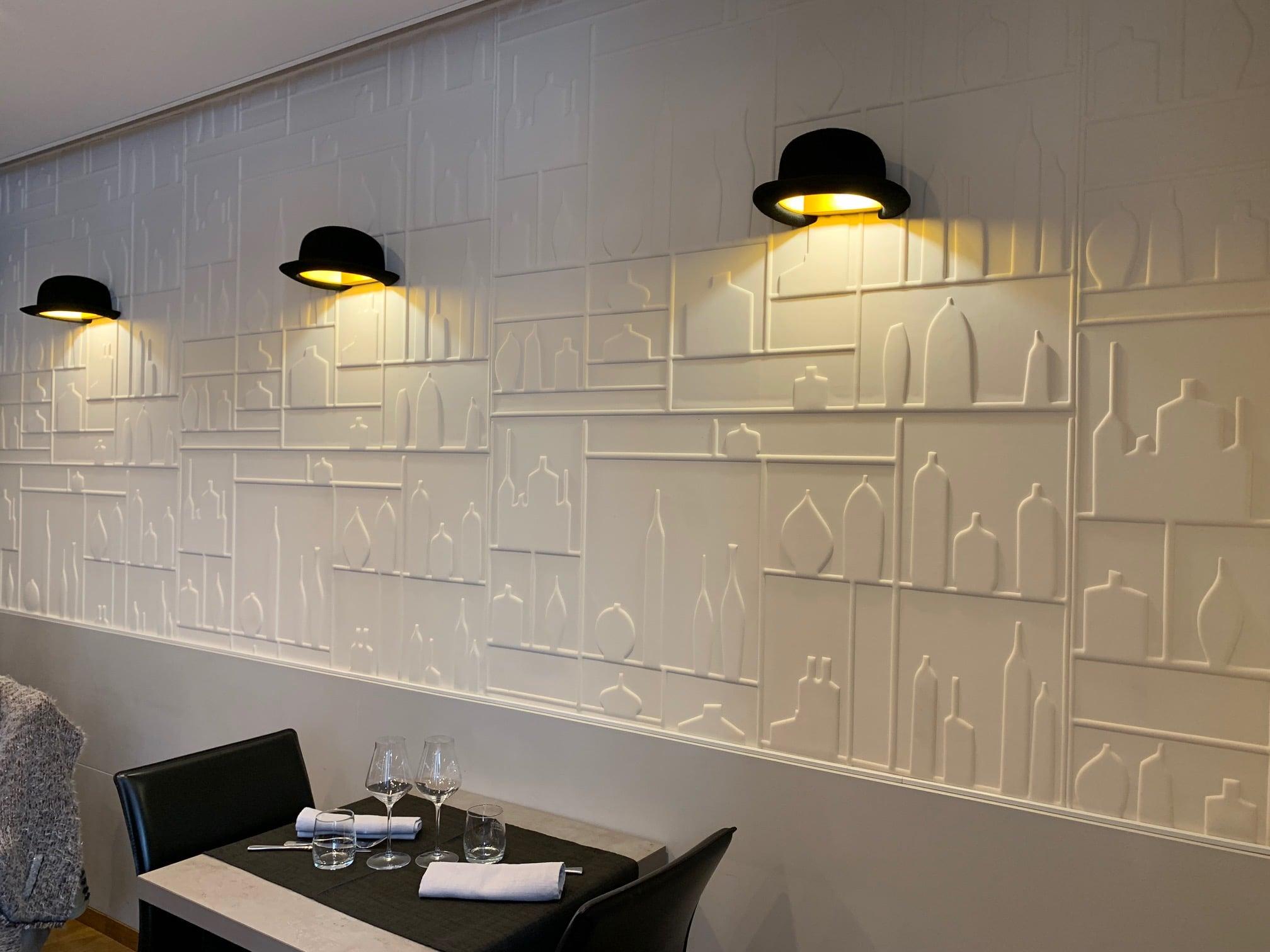 salle restaurant vide